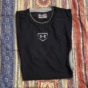 Under armour baseball t shirt